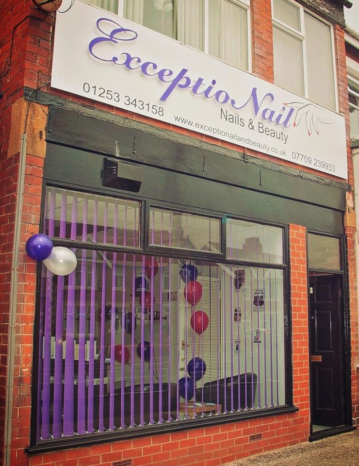 ExceptioNail Nails Beauty Is A Friendly Salon Located In Blackpool Offering Wide Range Of Treatments To Suit Everyones Requirements